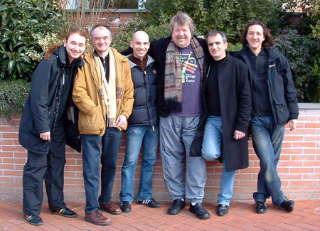 Italy Tour, Luther Kent and The Robi Zonca Band